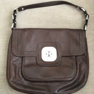 Longchamp Brown Leather Purse